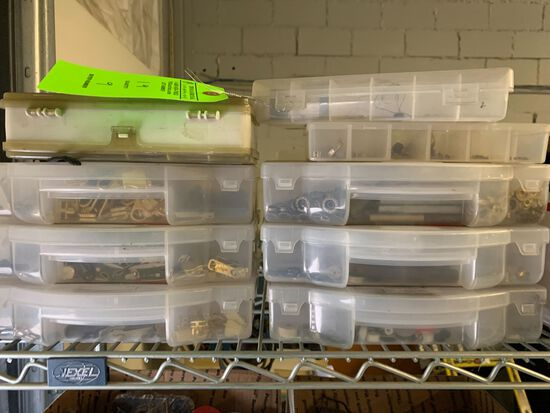(9) Containers of Fasteners
