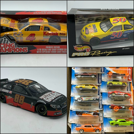 LaFountain Die Cast Toy Collection (Phase 2.1)