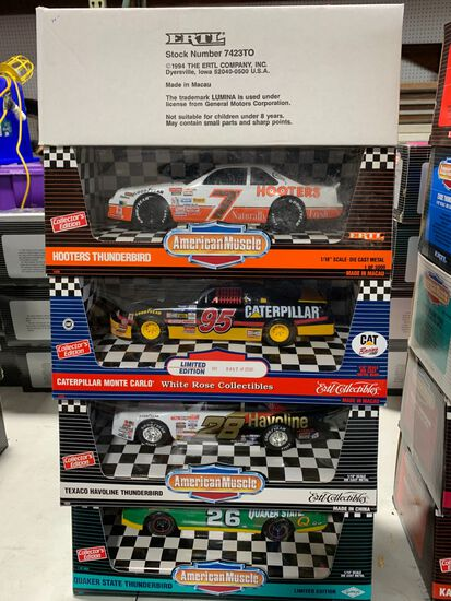 (5) American Muscle 1:18 Scale Diecast Cars