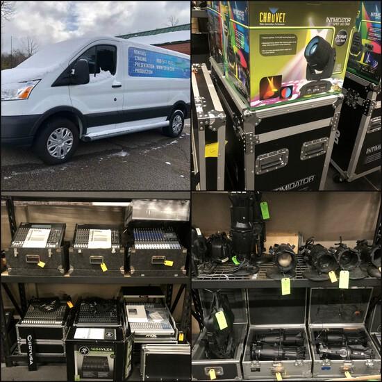 Cargo Vans, Audio/Visual Equipment & Supplies