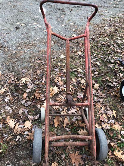 4-Wheel Barrel Dolly