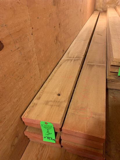 (11) Rough Cypress Boards, approx. 147 BF
