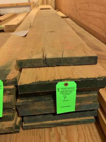 (9) Rough Cypress Boards, approx. 144 BF