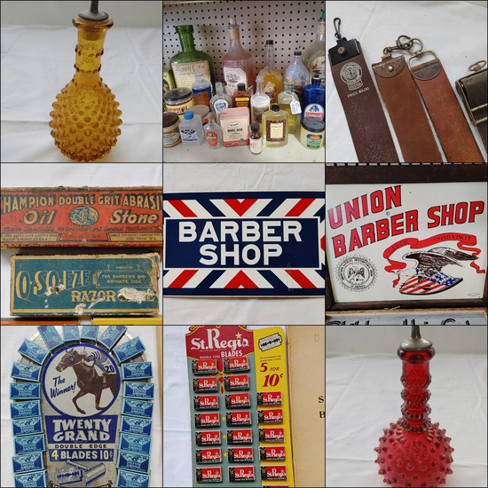 Barber Shop Collectibles (1272)