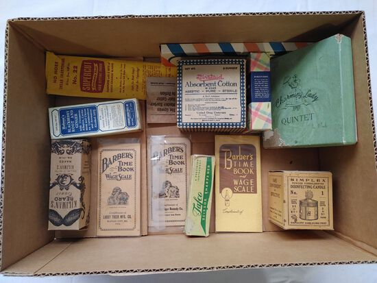 (13) Advertising Boxes & Pamphlets