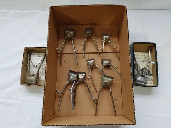 (10) Manual Hair Clippers