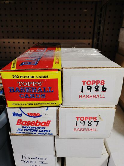 Large Collection of Donrus, Tops, and Bauman Baseball Cards
