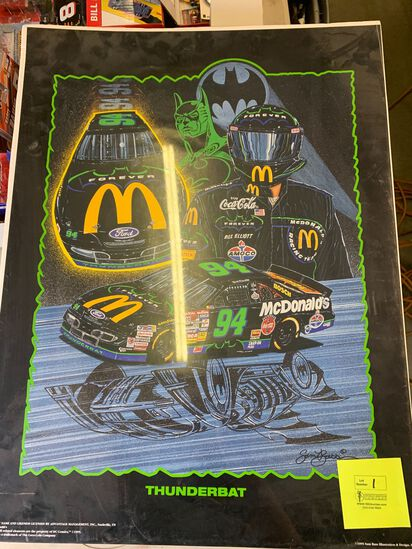 (5) Bill Elliott NASCAR Posters