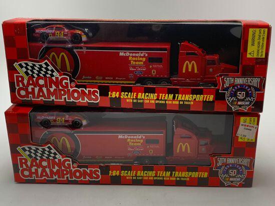 (4) Bill Elliott #94 McDonalds Racing Champions