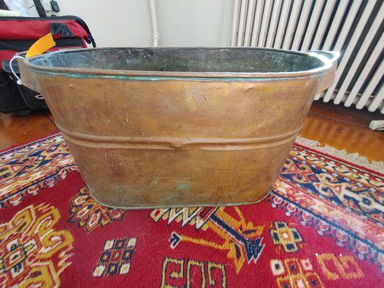 Antique Copper Boiler