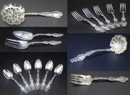 Estate Sterling & Continental Silver (1278)