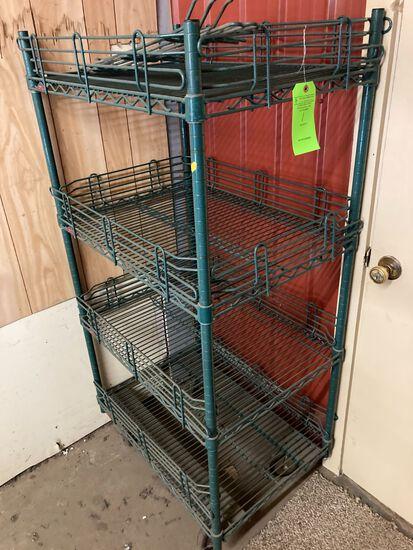 Metro Four Tier Wire Shelf