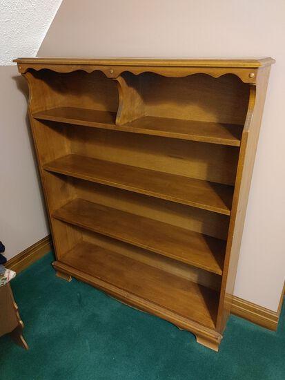 Wood Bookcase