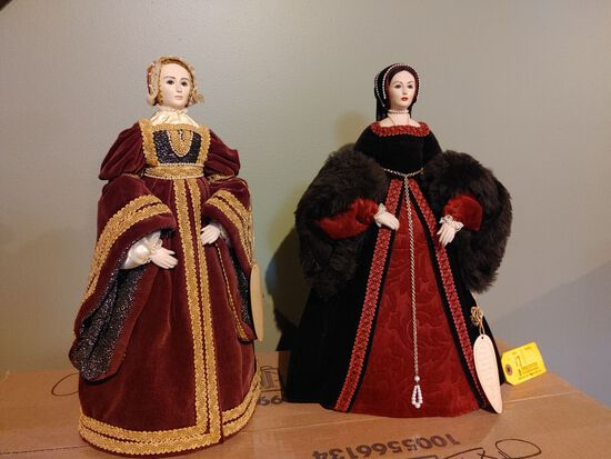 Pair of A. Brenda Price Dolls
