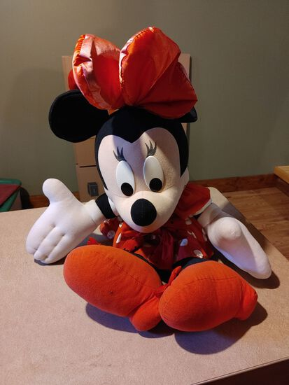 Mini Mouse Doll By Mattel