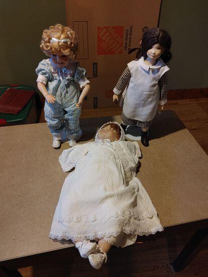 (3) Asst. Dolls