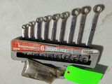 (16) Craftsman Combination & Open End Wrenches