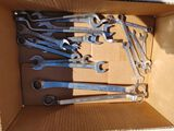 (19) Open End & Box End Wrenches