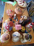 Quantity of Cookie Jars & Pie Safes