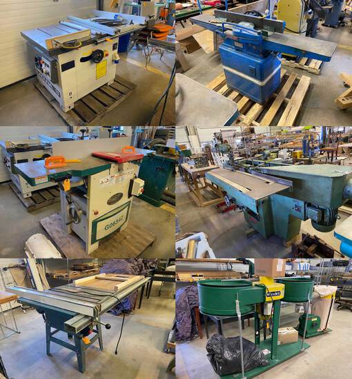 Woodworking Tools & Machinery (1289)