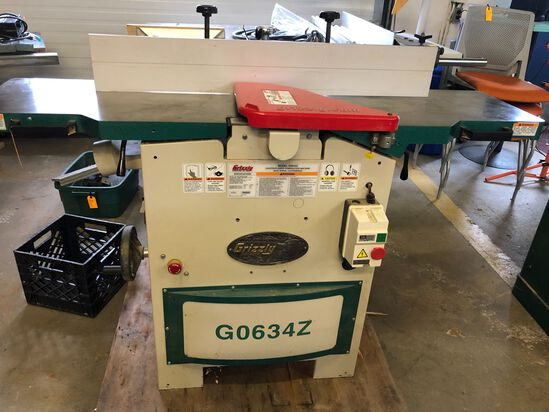 """Grizzly Model G0634Z 12"""" Planer/Jointer"""