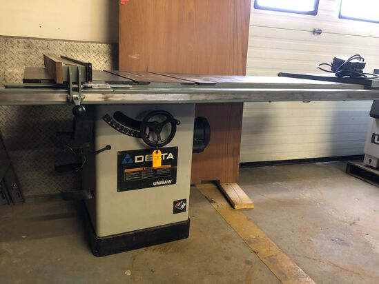 Delta Unisaw Tilting Arbor Table Saw