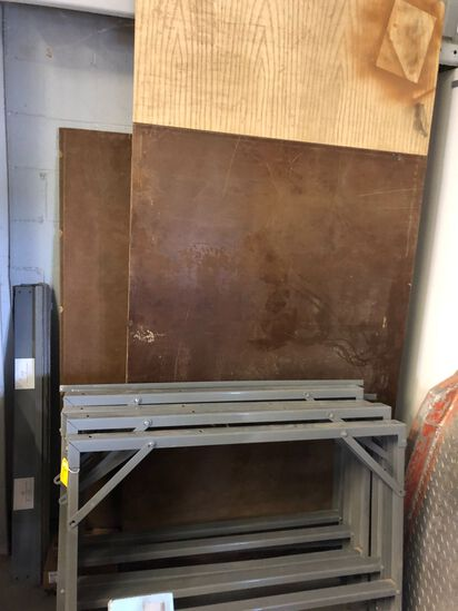 Three Section Cutting Table