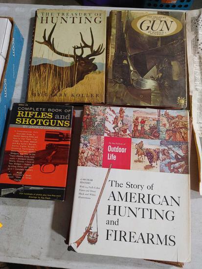 (4) Vintage Sporting / Hunting Books