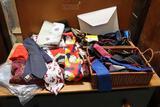 Asst. Vintage Neck Ties & Scarves