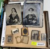 (10) Asst. Antique Tintypes