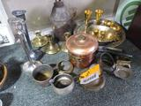 Asst. Brass/Copper Candlesticks