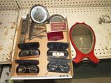 Antique Spectacles, Razors & Mirrors