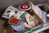 Hand-Crocheted Pot Holder & Decoratives