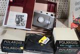 (2) Vintage Polaroid Cameras