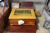 (6) Vintage Wooden Boxes