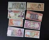 (10) Assorted Foreign Currency