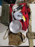Vintage Boy Scout Camping Items