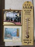 (3) Vintage VT Advertising Thermometers