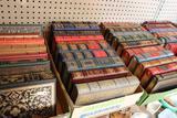 (50+/-) Leather-Bound Books