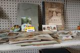 Asst. Antique Advertising Cards & Scrapbooks