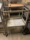 Stainless Steel Cart w/ Shelf