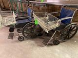 (2) Wheel Chairs