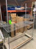 Singe Tier Wire Shelf Unit