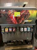 Manitowoc Eight Head Beverage & Ice Counter Top Dispenser