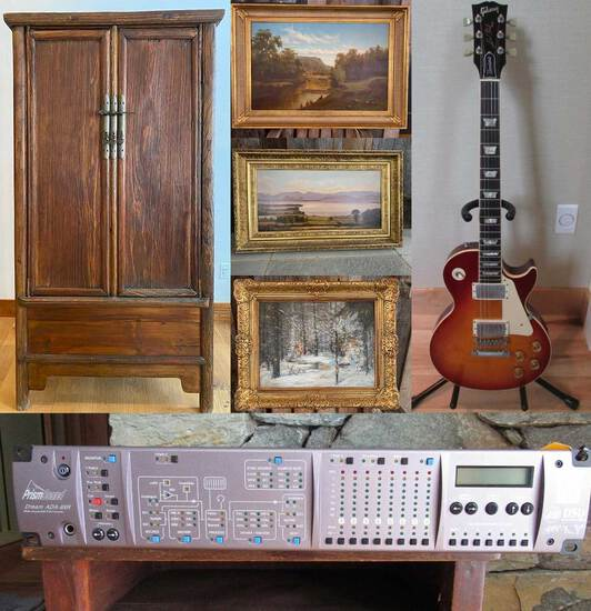 Recording Studio Equip, Instruments, Artwork(1295)