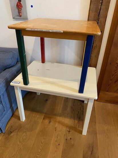 (2) Kid's Tables