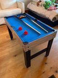 Lancaster Gaming Company Model CBF048_017P Kid's Sized Pool Table / Foosball / Air Hockey Unit