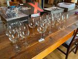 (15) Assorted Wine Stems