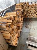 Approx. (1) Cord of Hardwood Firewood