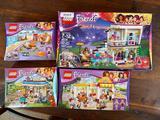 (4) Lego Friends Sets